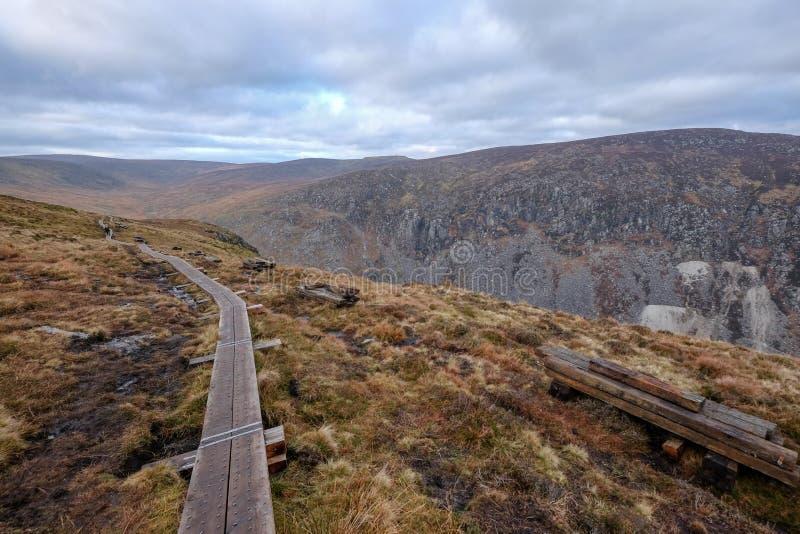 O parque nacional das montanhas de Wicklow imagens de stock royalty free