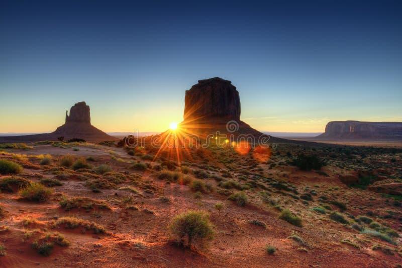 O parque tribal do vale do monumento fotos de stock royalty free