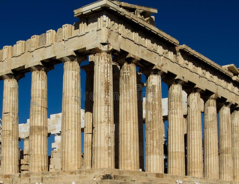 O Partenon imagens de stock royalty free