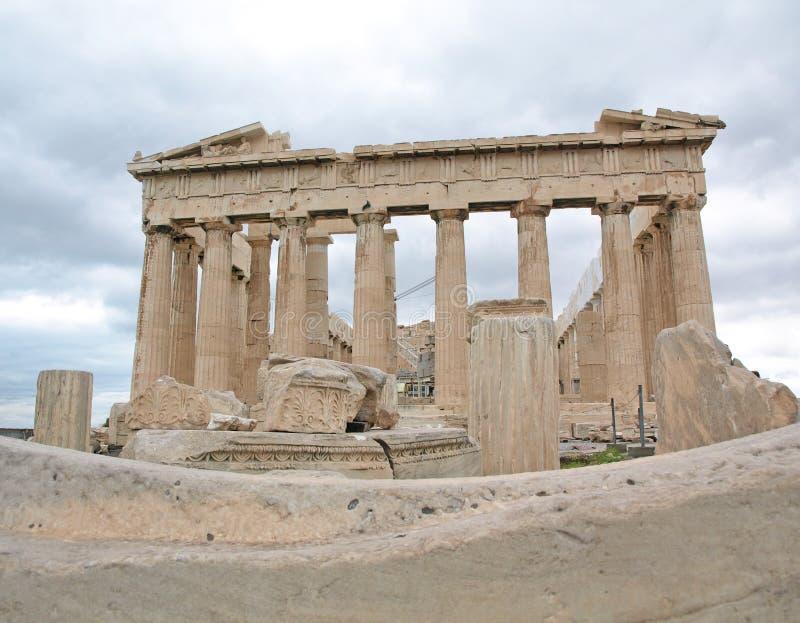 O Parthenon fotografia de stock