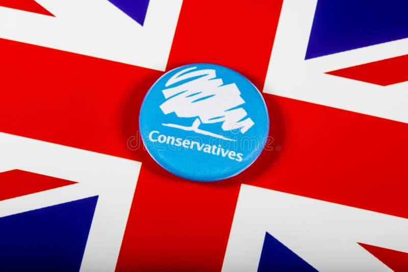 O partido conservador imagens de stock royalty free