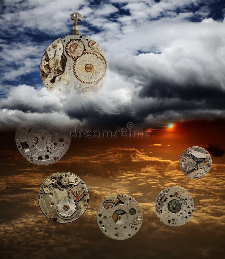 O passagem do tempo sem idade. imagens de stock royalty free