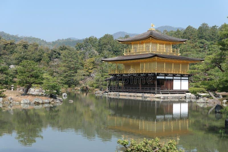 O pavilhão dourado fotografia de stock royalty free