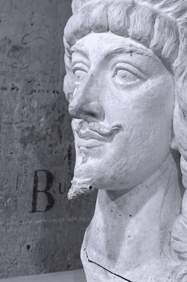 O peito de Gaston, duque de Orleans fotografia de stock