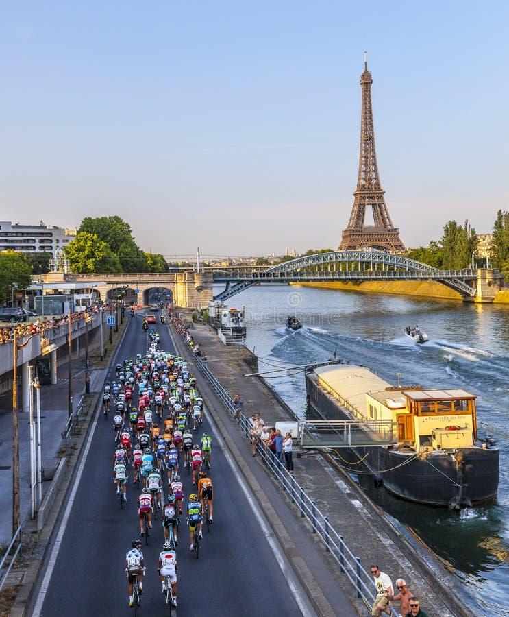 O Peloton em Paris