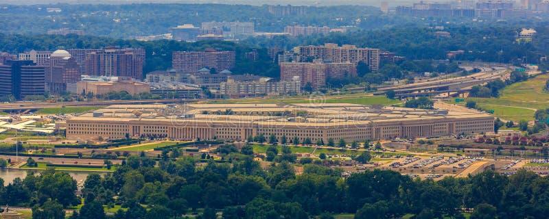 O Pentágono imagens de stock