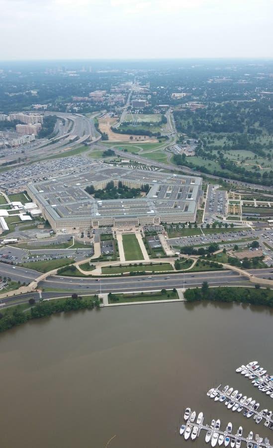 O Pentágono fotos de stock