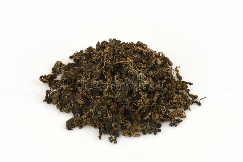 O pentaphyllum chinês Thunb Makino de Gynostemma do nome de Jiaogulan é folhas secadas imagem de stock royalty free