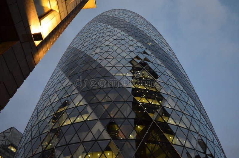O pepino, Londres, Inglaterra foto de stock royalty free