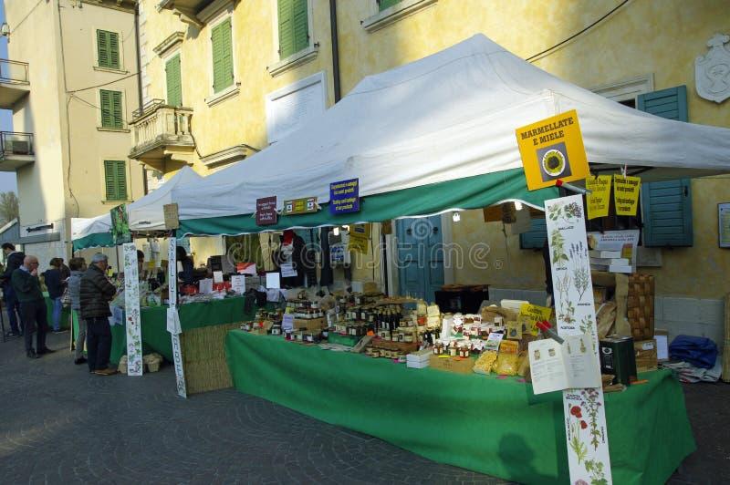 O Peschiera del Garda, Lago di Garda, Itália fotografia de stock royalty free