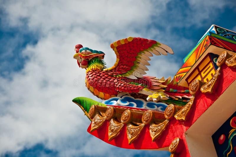 O phoenix chinês foto de stock royalty free