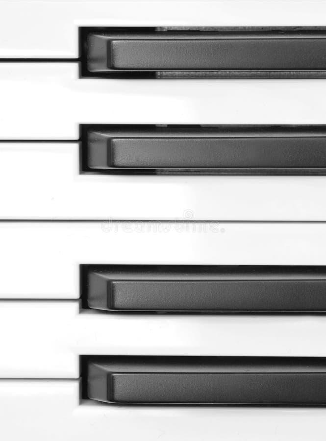 O piano fecha o macro fotografia de stock royalty free