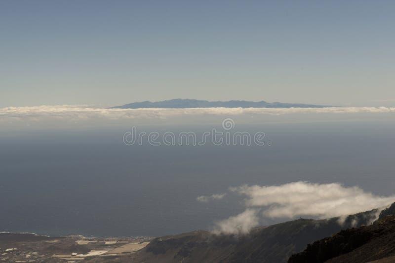 O pico de Gran Canaria Island foto de stock royalty free