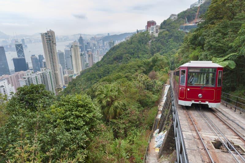 O pico, Hong Kong imagem de stock royalty free