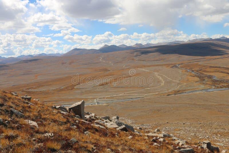 O Pleatueas o mais alto no mundo | Planícies de Deosai imagens de stock royalty free