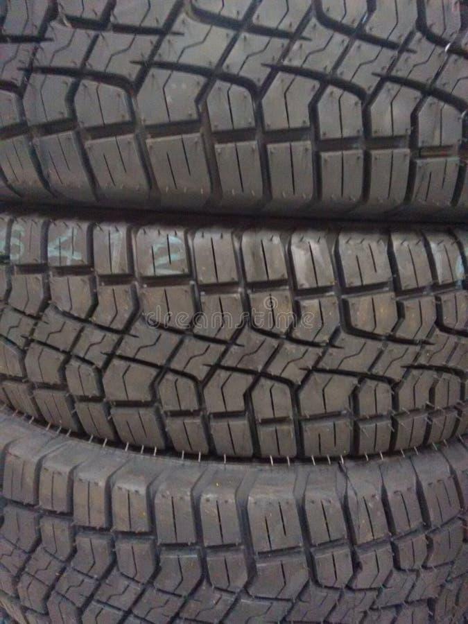 O pneumático é duro! fotografia de stock