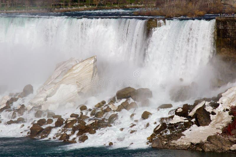 O poder do Niagara Falls foto de stock royalty free