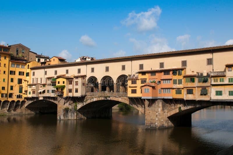 O Ponte Vecchio fotos de stock royalty free