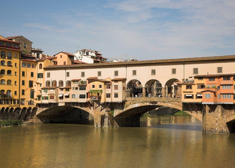 O Ponte Vecchio foto de stock