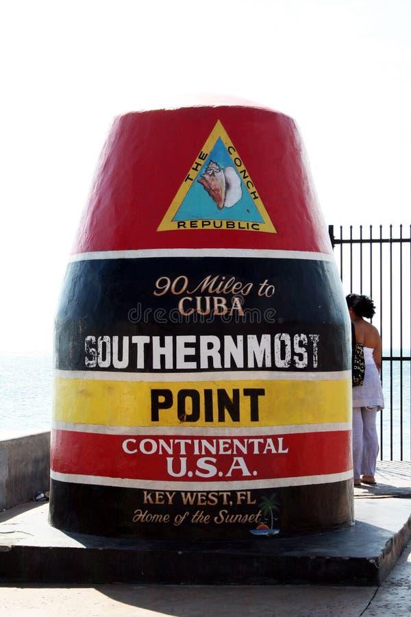O ponto o mais southernmost foto de stock royalty free