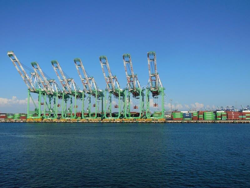 O porto de Los Angeles imagens de stock royalty free