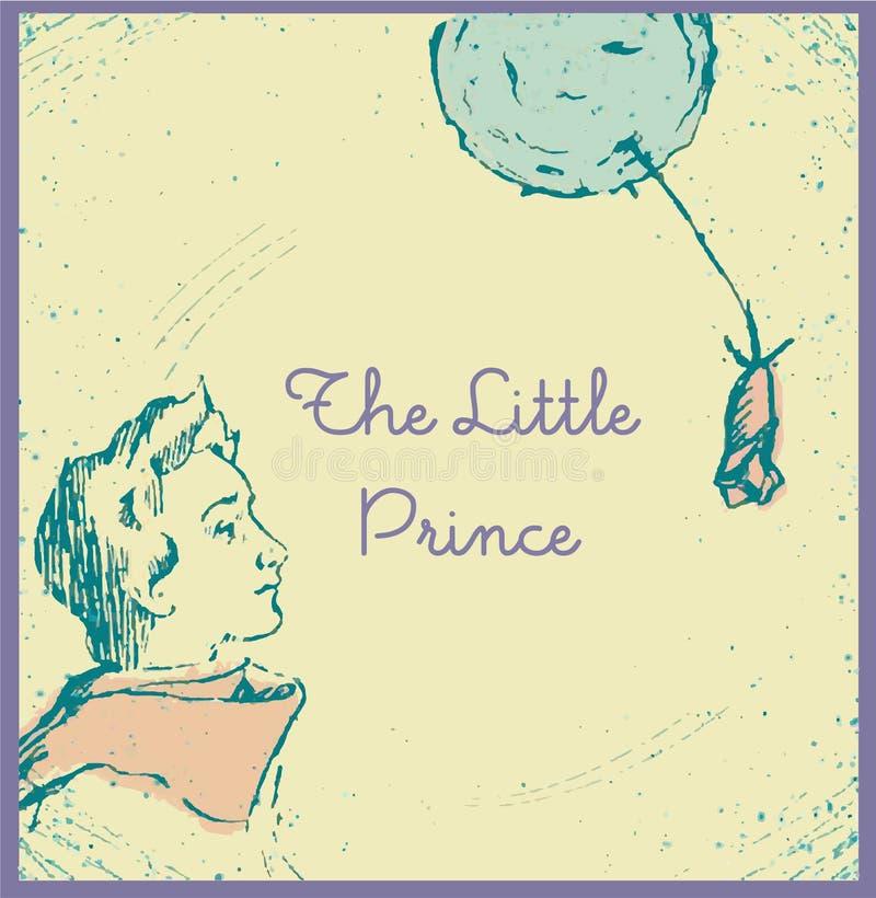 O príncipe pequeno imagens de stock royalty free