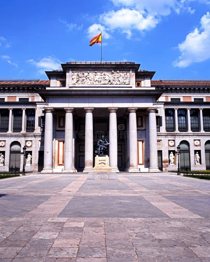 O Prado, Madri imagens de stock royalty free