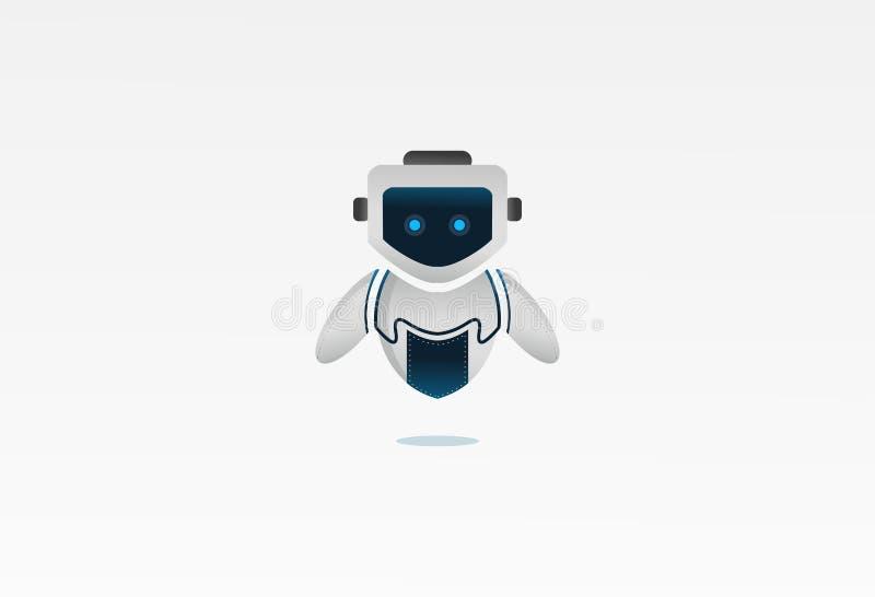O projeto do robô ilustração royalty free