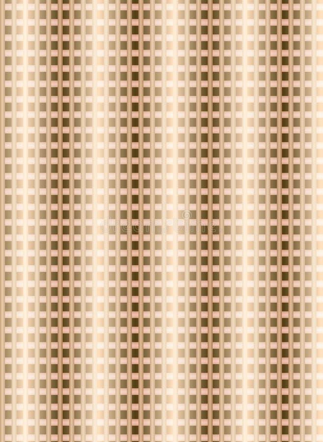 O projeto sem emenda do teste padrão de matéria têxtil para a mulher veste ilustração do vetor
