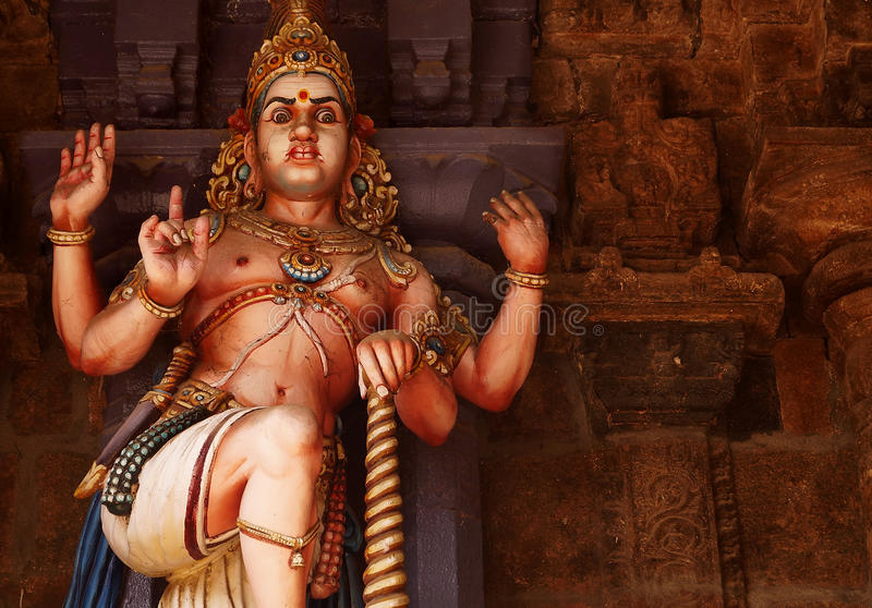 O protetor de Lord Shiva fotografia de stock