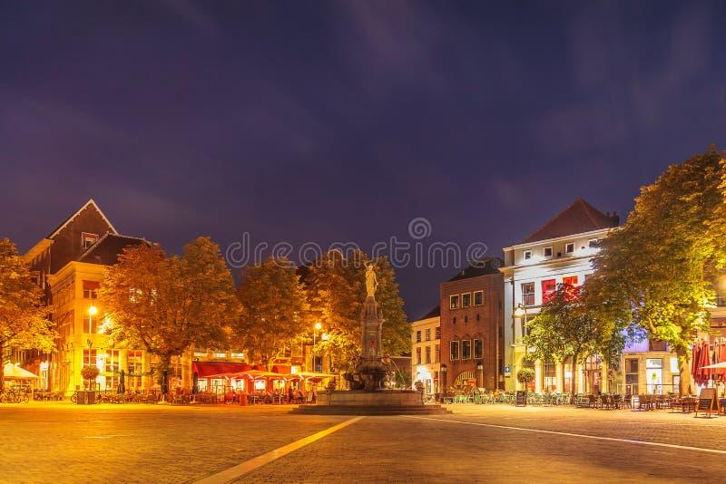 O quadrado histórico central no centro da cidade antigo de Devent fotos de stock royalty free