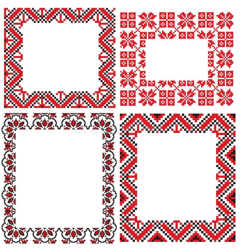 Download O quadro borda ilustração do vetor. Ilustração de ornament - 12801424