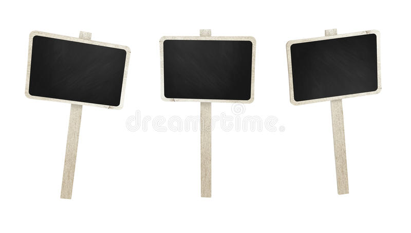 O quadro indicador de madeira ajustou-se com o quadro no fundo branco fotografia de stock royalty free