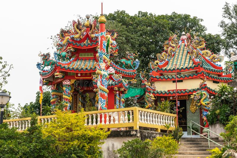 O que sanita Koh Loy na ilha Ko Loi, Si Racha, Tailândia fotos de stock royalty free