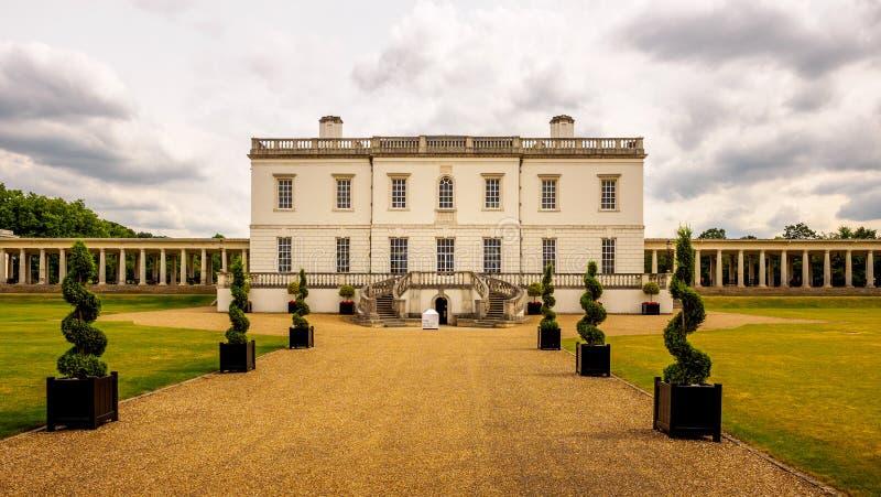 O Queen& x27; casa de s, Greenwich foto de stock