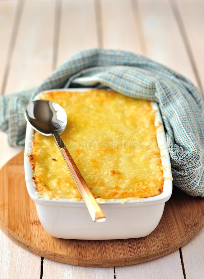 O queijo coze fotos de stock