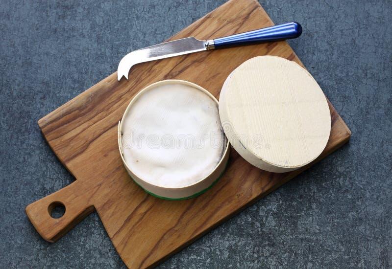 ` O queso francés del mont d del vacherin imagen de archivo libre de regalías