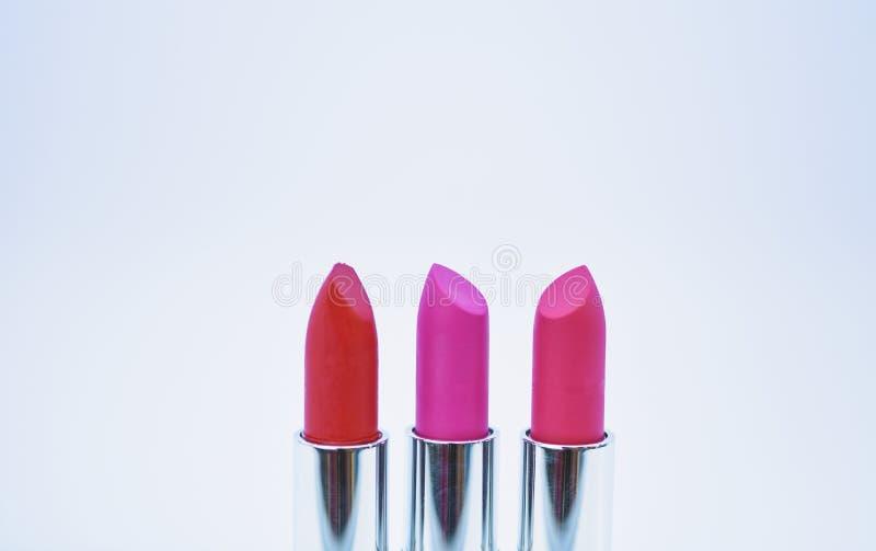 o r Χρώμα επιλογών που σας ταιριάζει Συγκρίνετε makeup τα προϊόντα e στοκ εικόνες