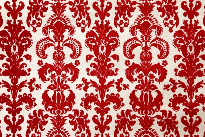 O rebanho vermelho wallpaper o teste padrão imagem de stock