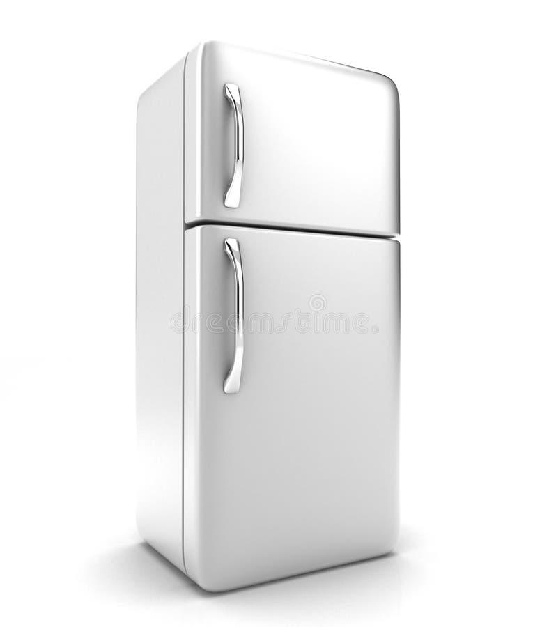 O refrigerador ilustração stock