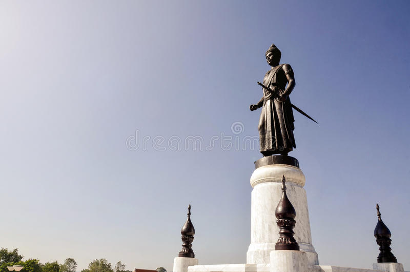 O rei da primeira Tailândia foto de stock royalty free