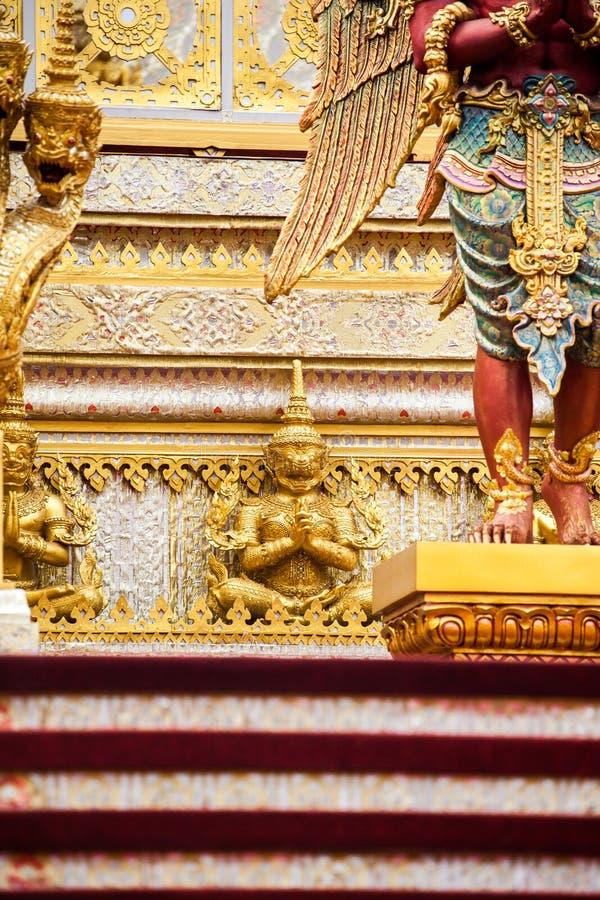 O rei real Rama da pira funerária fúnebre a 9a de Tailândia imagem de stock