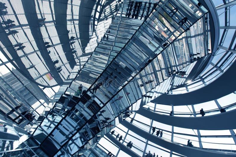O Reichstag em Berlim fotografia de stock royalty free