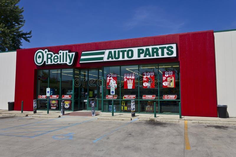 O'Reilly Auto Parts Store II imagenes de archivo