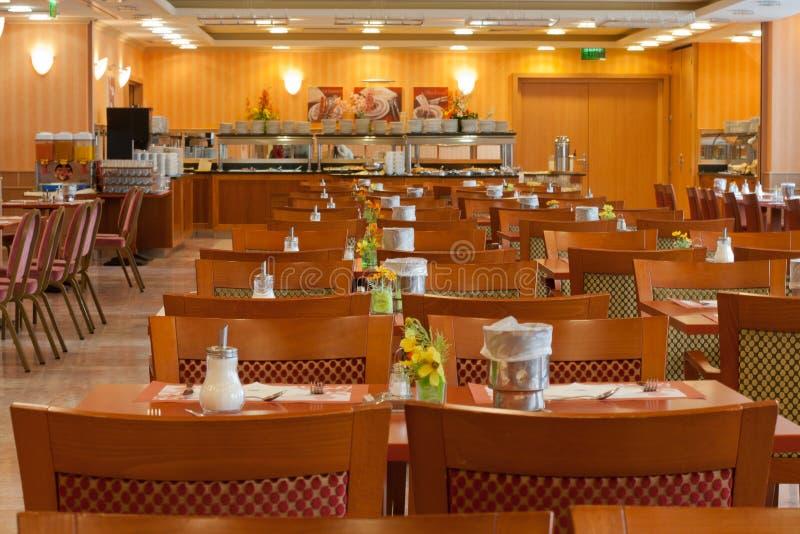 O restaurante foto de stock