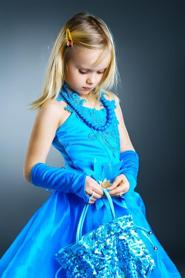 O retrato de uma menina. fotos de stock royalty free