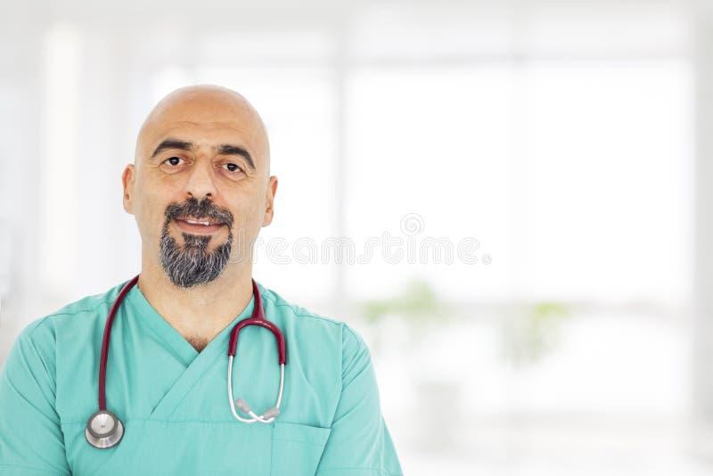 O retrato do doutor foto de stock
