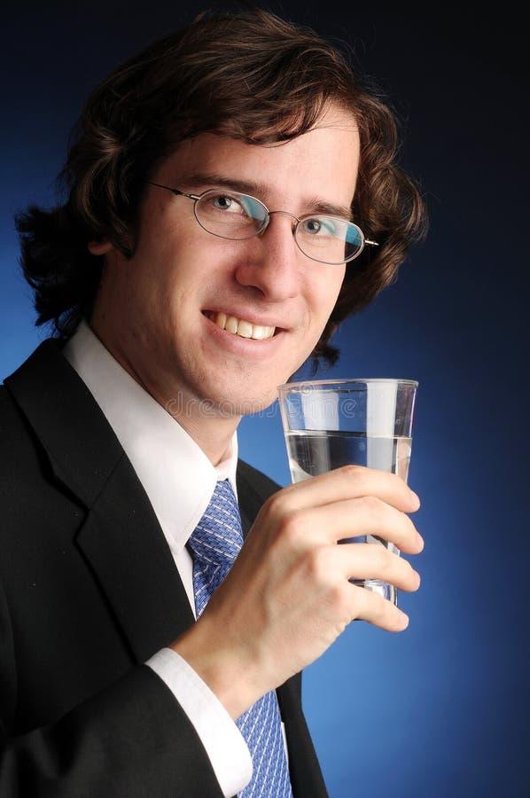 O retrato do homem de negócios atrativo fotografia de stock