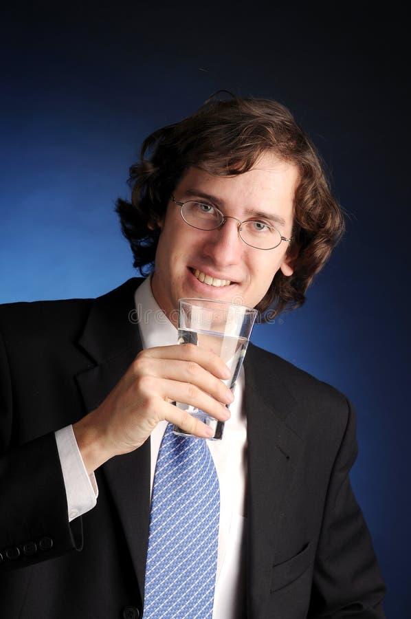 O retrato do homem de negócios atrativo fotos de stock