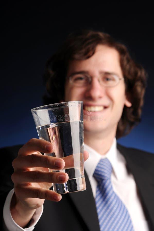 O retrato do homem de negócios atrativo foto de stock royalty free
